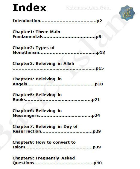 Basic Islam introducing Islam simply non-Muslims converts
