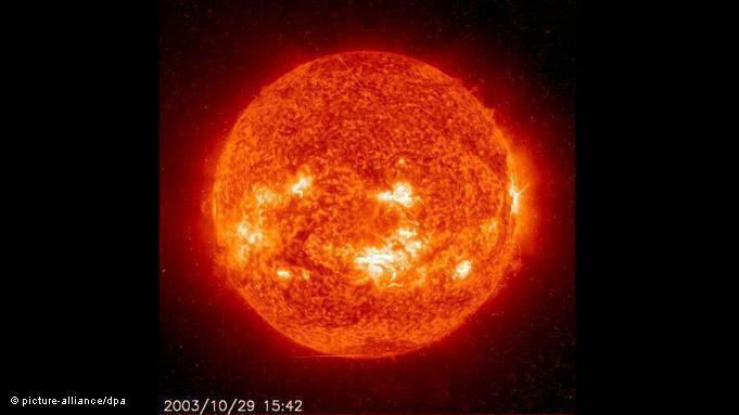 تلتهب الشمس جولة مصورة