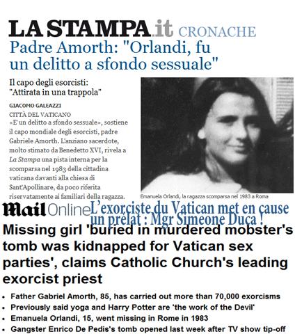 لعنة الفضائح الجنسية تطارد قساوسة الفاتيكان