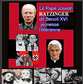 pape Benoît nazi