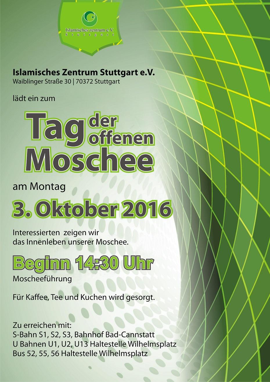 المساجد المفتوحة بألمانيا 2016