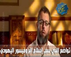 البروفيسور الأسباني اليهودي نيكولاس: تواضع النبي محمد سبب إسلامي